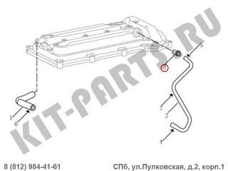 Клапан вентиляции картера для Geely Emgrand X7 NL4 101605043801
