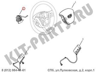 Блок управления подушкой безопасности водителя (кольцо) для Geely Emgrand X7 NL4 1013004997