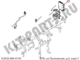 Блок управления кузовной электроникой (BCM) для Geely Emgrand X7 NL4 1017029848