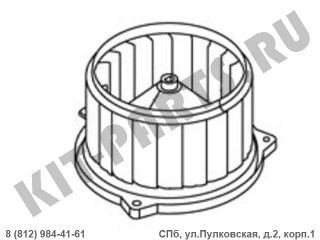Вентилятор отопителя (печки) для Geely GC6, Geely MK, Geely MK Cross 1018002736