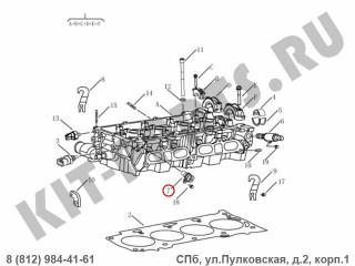 Датчик положения распредвала для Geely Emgrand X7 NL4 1025006400