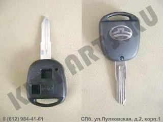 Заготовка ключа замка зажигания для Great Wall Hover 3704015K00B1