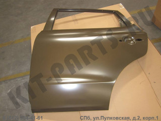 Дверь задняя левая для Geely Emgrand X7 NL4 101203646501C15