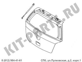 Амортизатор крышки багажника левый для Geely MK Cross 101800620252