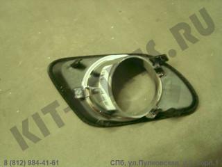 Вставка переднего бампера правая (под противотуманку) (хэчбэк) для Geely Emgrand EC7 1068003046
