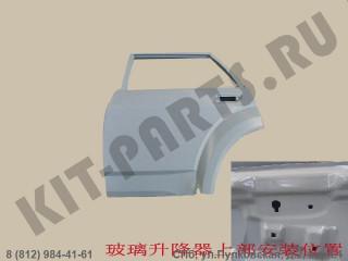 Дверь задняя левая для Great Wall Hover H3 6201100K00B1