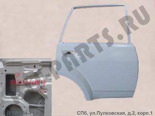 Дверь задняя правая для Great Wall Hover H3, Hover H5 6201200K80