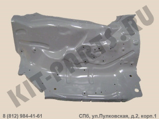 Брызговик моторного отсека (лонжерон) левый для Great Wall Hover 8400311K00B1