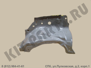 Брызговик моторного отсека (лонжерон) правый для Great Wall Hover 8400422K00J