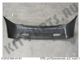 Бампер задний (под парктроники) для Lifan Smily F2804111C1