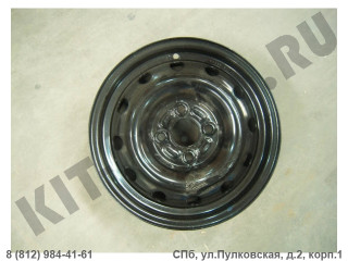 Диск колеса штампованный для Lifan Smily F3101100