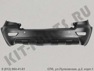 Бампер задний для Lifan X60 S2804111