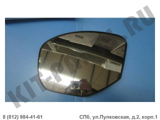 Зеркальный элемент левый (без обогрева) для Lifan X60 S8202150