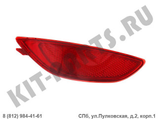 Катафот заднего бампера левый для Hyundai Solaris I 924051R000