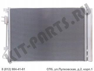 Радиатор кондиционера для Hyundai Solaris I 976061R000