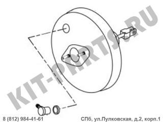 Вакуумный усилитель (1.8i) для Geely Emgrand X7 NL4 1014020200