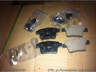 Колодки тормозные задние для Geely Emgrand X7 NL4 1014025514