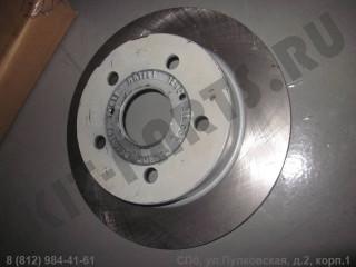 Диск тормозной задний для Geely Emgrand EC7 1064001294