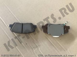 Колодки тормозные передние для Geely Emgrand X7 NL4 1114000519