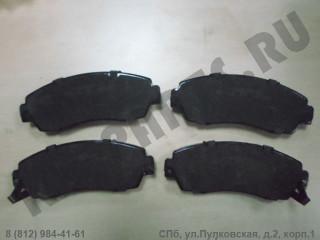 Колодки тормозные передние для Haval H6 3501115XKZ16A