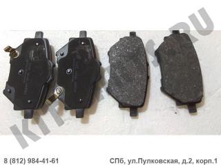 Колодки тормозные задние для Haval H2 3502110XSZ08A