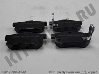 Колодки тормозные задние для Haval H6 3502315XKZ16A