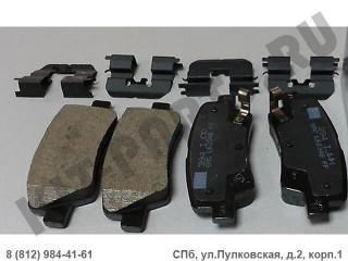 Колодки тормозные задние для Kia Rio 4 58302H5A00