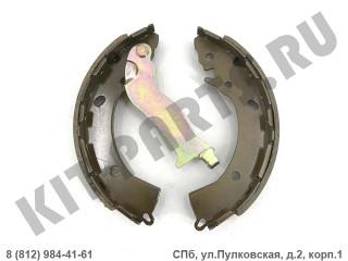Колодки тормозные стояночного тормоза для Hyundai Solaris I 583050UA00