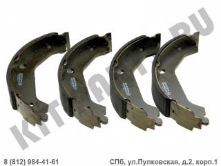 Колодки тормозные барабанные для Kia Rio 4 58350H5A20