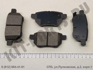 Колодки тормозные задние для Lifan X50, Lifan Celliya SA35002