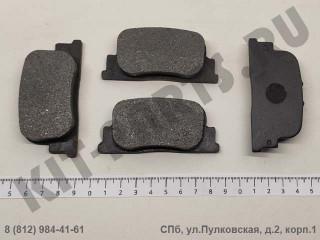 Колодки тормозные задние для Lifan Solano, Lifan Solano II SB35002
