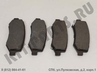 Колодки тормозные задние для Lifan Cebrium SC35002